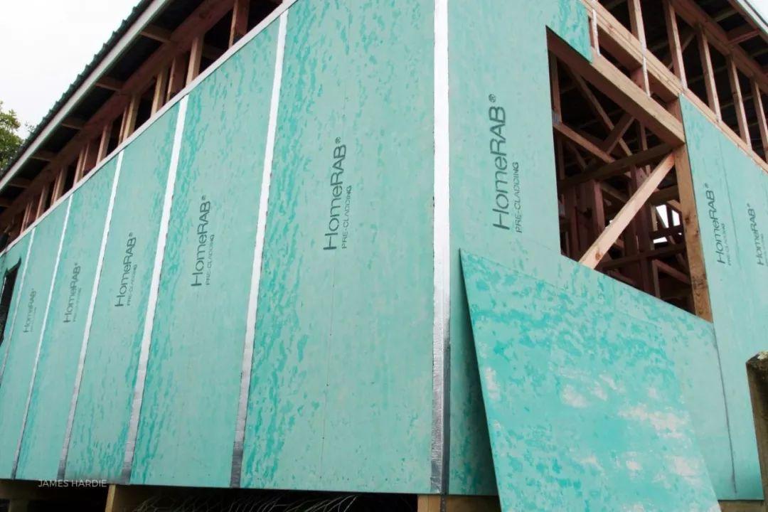 Home RAB预置垫层 建筑外墙材料 新西兰护墙板
